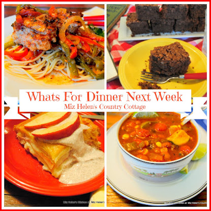 Whats For Dinner Next Week10-16-16 to 10-22-16
