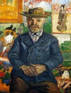 Retrato do comerciante de tintas «Père Tanguy»