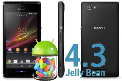 Sony Xperia M Dapatkan Update Android 4.3 Jelly Bean