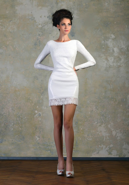 Wedding Dress with Long Sleeves bien savvy