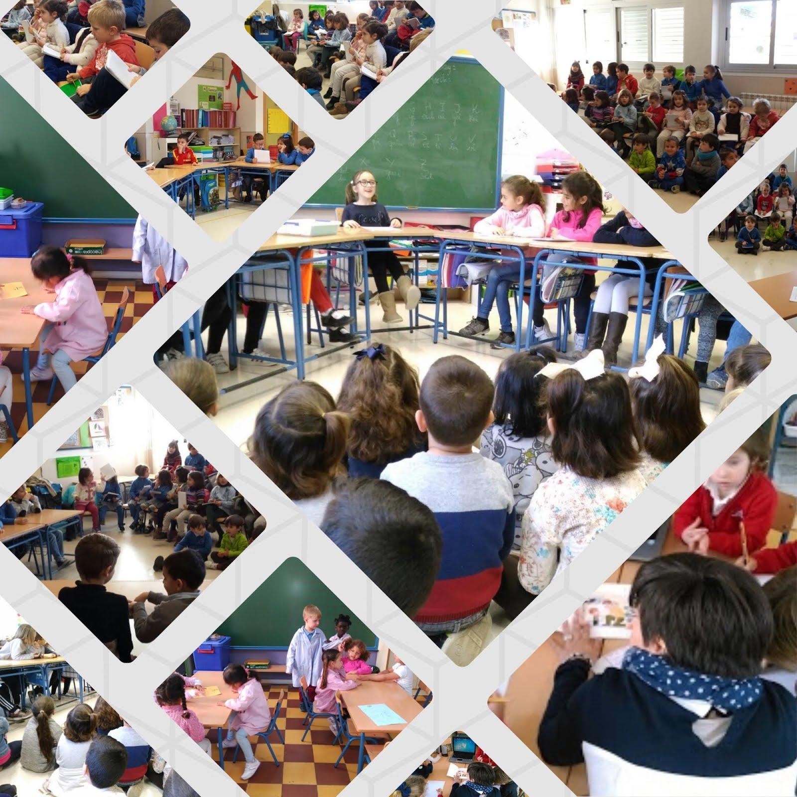 FOTOS DEL ALUMNADO DE NUESTRAS AULAS PARTICIPANDO EN DIFERENTES ACTIVIDADES SOBRE ORALIDAD
