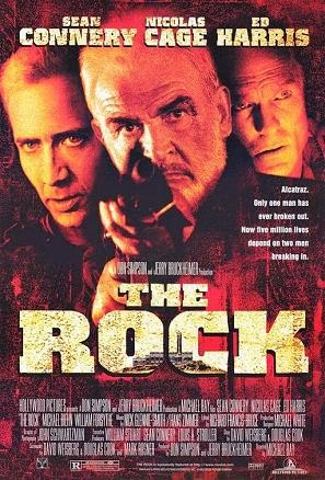 The Rock Sean Connery Nicolas Cage Ed Harris 1996