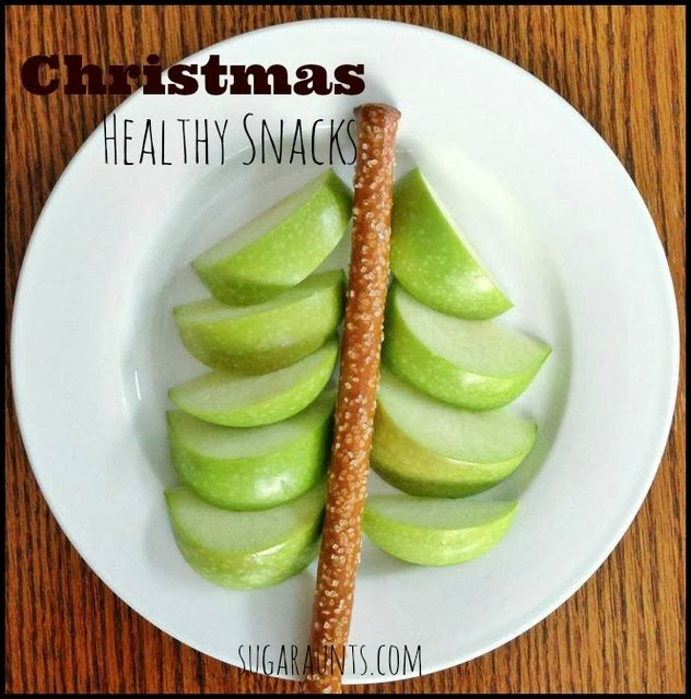 Christmas Healthy Snacks for kids. By Sugar Aunts