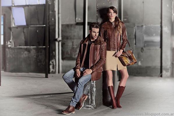 Carteras, camperas, zapatos y botas Corium otoño invierno 2014. Moda cuero otoño invierno 2014.