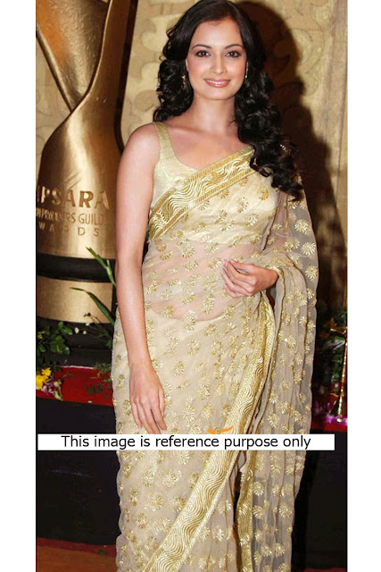 Bollywood Actress Gorgeous Saree, Bollywood Actress Krina Kapoor, Rani Mukharji,Diya Mirza Replica Saree in Canada