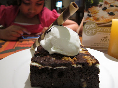 Choco Brownie at Cafe Mangii Pune