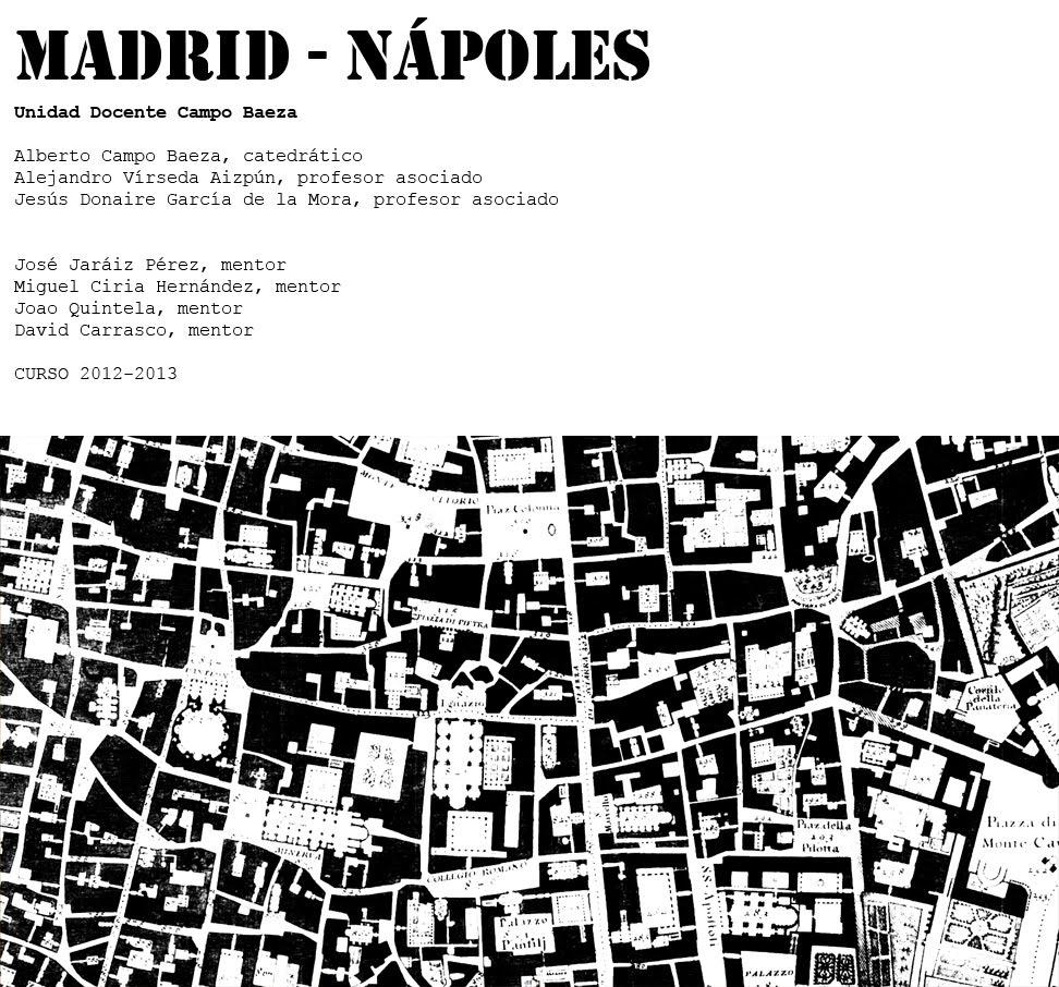 Madrid Napoles Curso 2012 - 2013