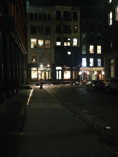 Downtown Soho New York City Movie Vibe