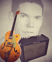 Neil Young Gretsch Ampeg Echo Twin 1963