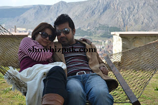 Beenish Chohan with husband