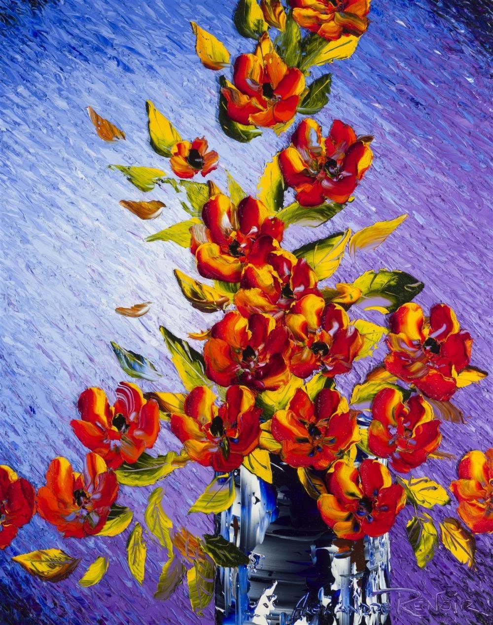 Alexandre Renoir  ouquet of Sunset Flowers