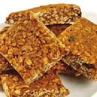Receta de barritas de granola para navidad