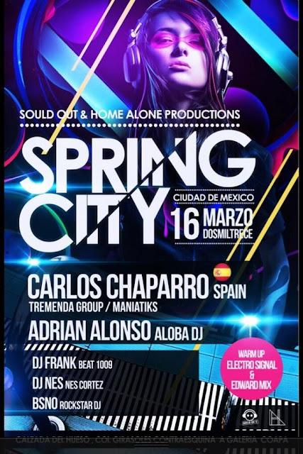 Spring City Ciudad de México este 16 de Marzo