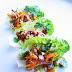 Peanut Satay Lettuce wraps