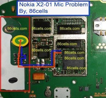 about the Nokia X2-01 Mic