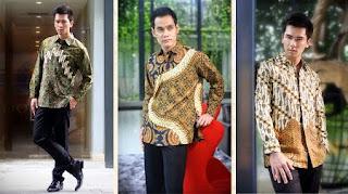 Foto Baju Muslim Batik Danar Hadi