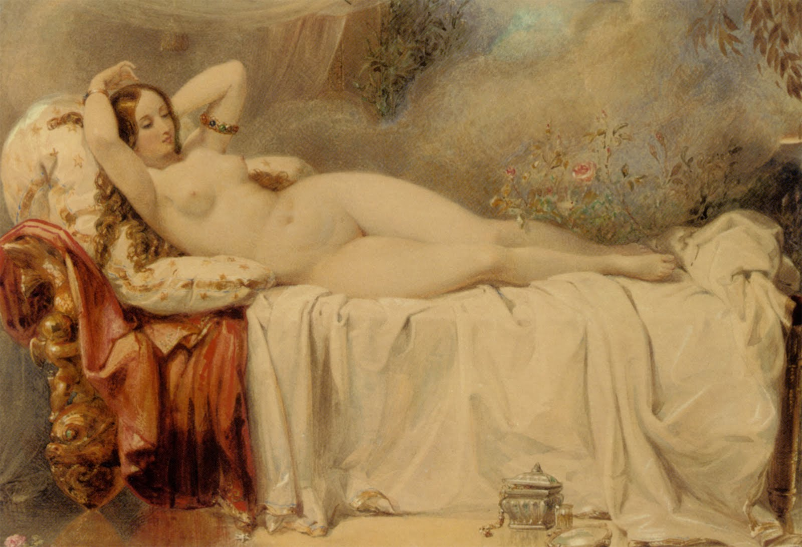 edward henry corbould odalisque
