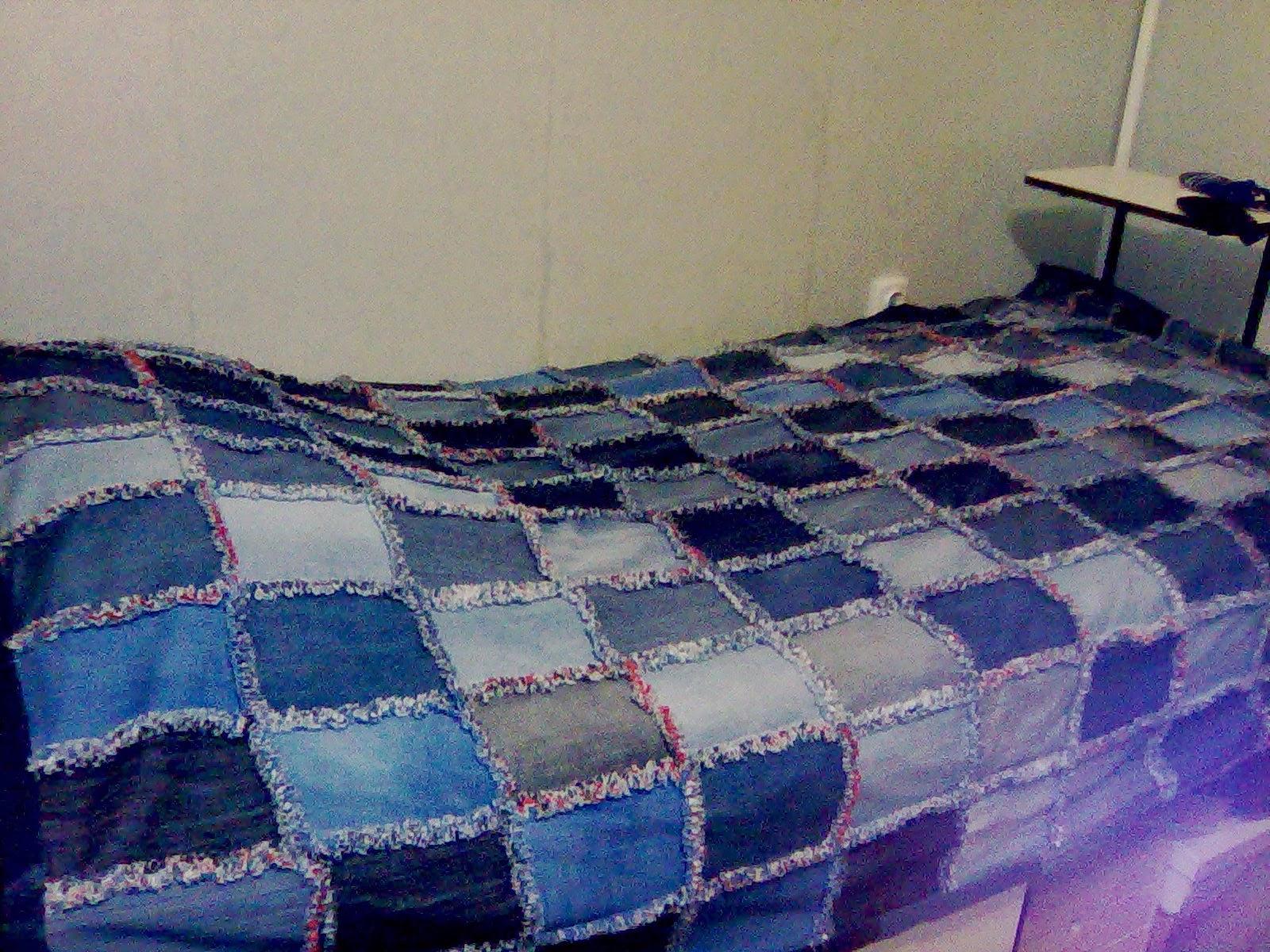 Плед на старый диван своими руками 97