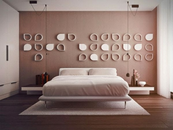 Wall Decor Ideas For Bedroom shallow shelves. ideas bedroom captivating bedroom wall decorating