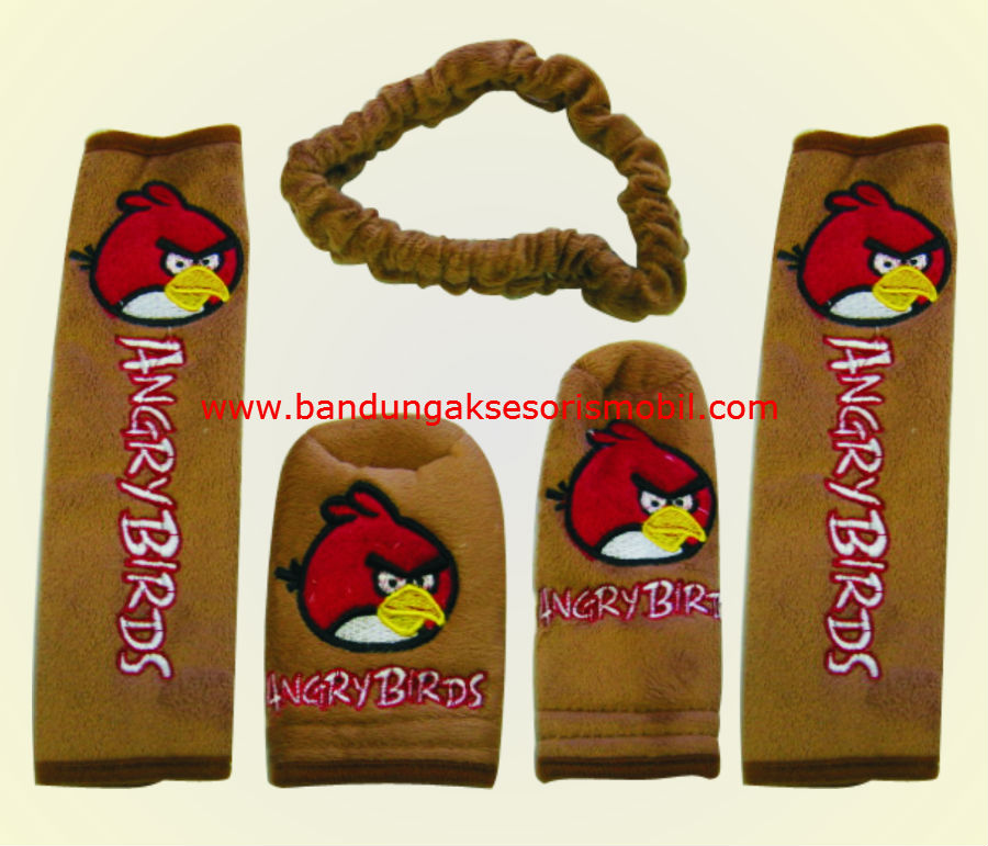 Safety Pad Angry Bird Paket Coklat