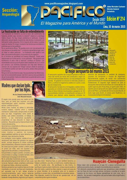 Revista Pacífico Nº 214 Arqueología