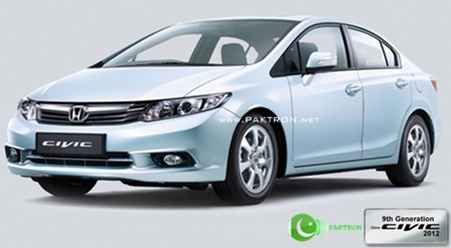 Ninth Gen civic new model Pakistan