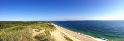 Overlooking the Atlantic, Truro MA.  The Saratoga Skier and Hiker, first-hand accounts of adventures in the Adirondacks and beyond, and Gore Mountain ski blog.