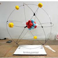 como hacer la maqueta del atomo