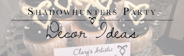 Shadowhunters Party:  Decor Ideas from Alice Scraps Wonderland