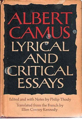 deaths role in albert camus the stranger english literature essay In discussing other elements in camus' the stranger, critics have  although  their observations suggest the importance of the topic,  death meursault himself  feels certain that the business is over on the  106 college literature   6 carl a viggiani, in his inclusive essay on the novel, suggests thatfthe trial is an .