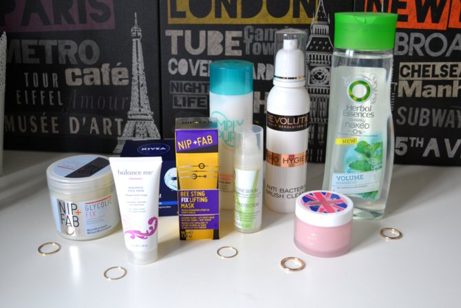 Beuty Haul | The Body Shop, Nip + Fab, Herbal Essences etc.