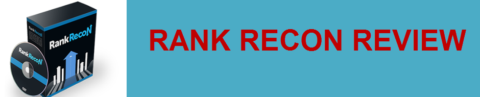 HONEST RANK RECON REVIEW - THE BEST TOOL TO GET TRAFFIC