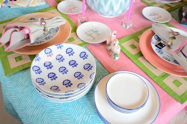 Blue And White Floral Appetizer Plate Set Furbish Studio  | Southern Arrondissement