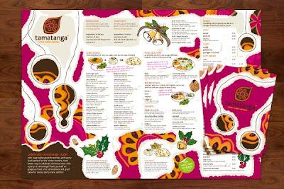 10 Contoh Desain Brosur Makanan yang Menarik