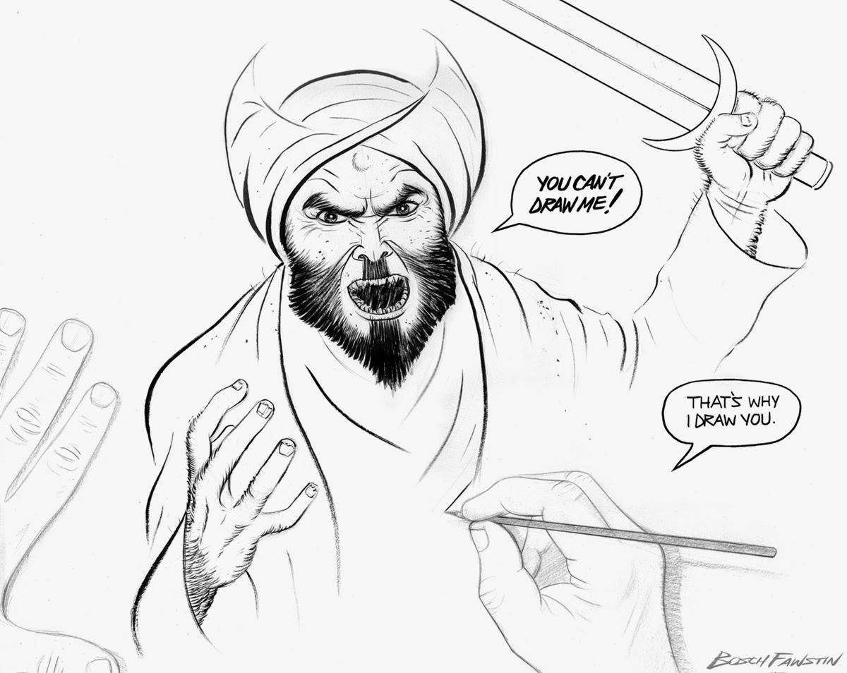 Bosch Fawstin Garland Draw Mohammed contest winner