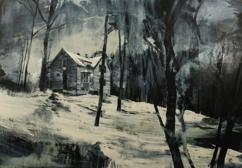 09-Last-Morning-Mark-Thompson-Austere-and-Desolate-Cityscapes-Paintings-www-designstack-co