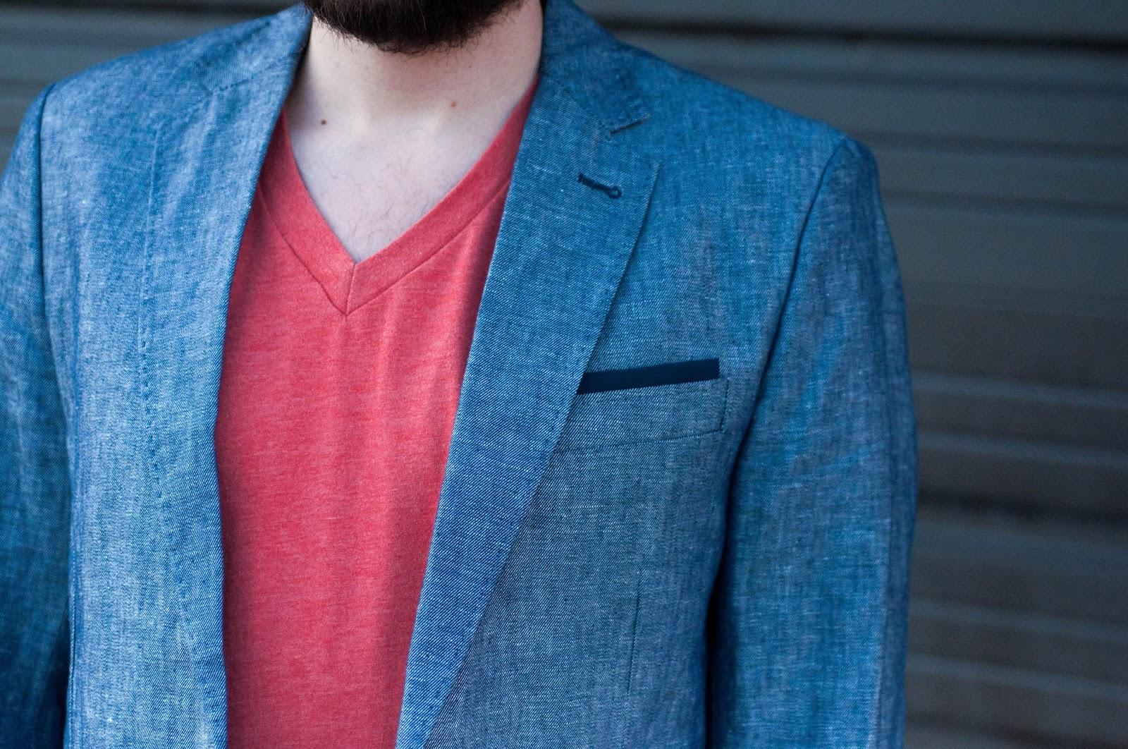 ootd, mens style, mens fashion blog, bdg tee, zara man, zara blazer