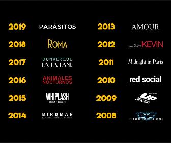 Las mejores películas 2019 - 2008