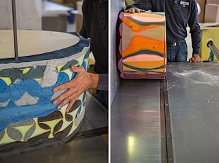 Muebles Reciclados, Espuma de Poliuretano Reutilizada en Muebles Deco