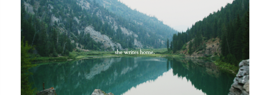 she writes home