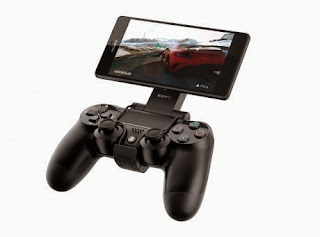 Sony Xperia Z3 with Dualshock 4 controller for PS 4 remote play