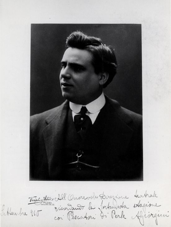 GREAT ITALIAN TENOR ARISTODEMO GIORGINI (1879 – 1937) VOLUME I