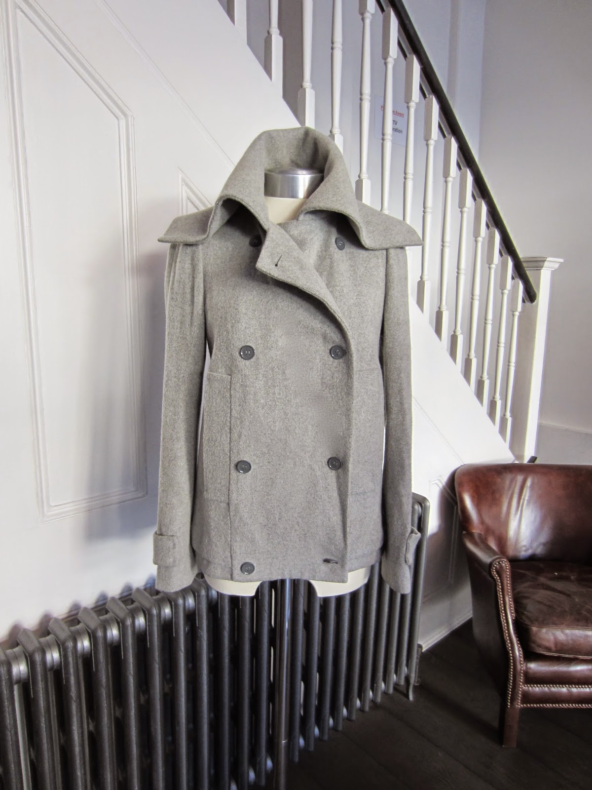 CK Calvin Klein Light Grey Jacket