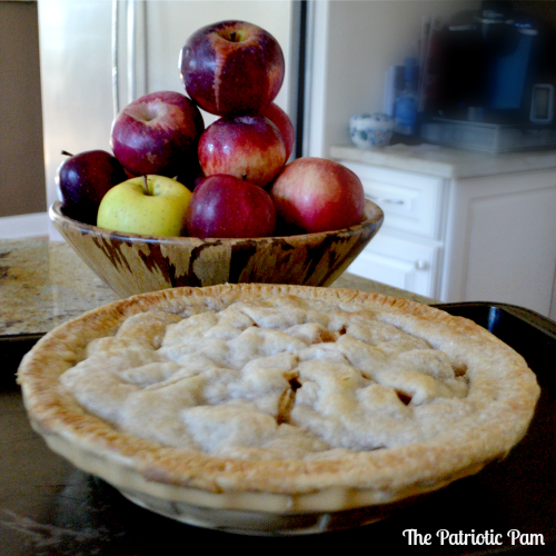 The Patriotic Pam...: Classic Apple Pie Recipe