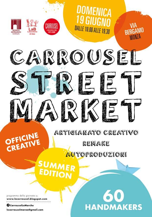 Carrousel StreetMarket 19 giugno 2016
