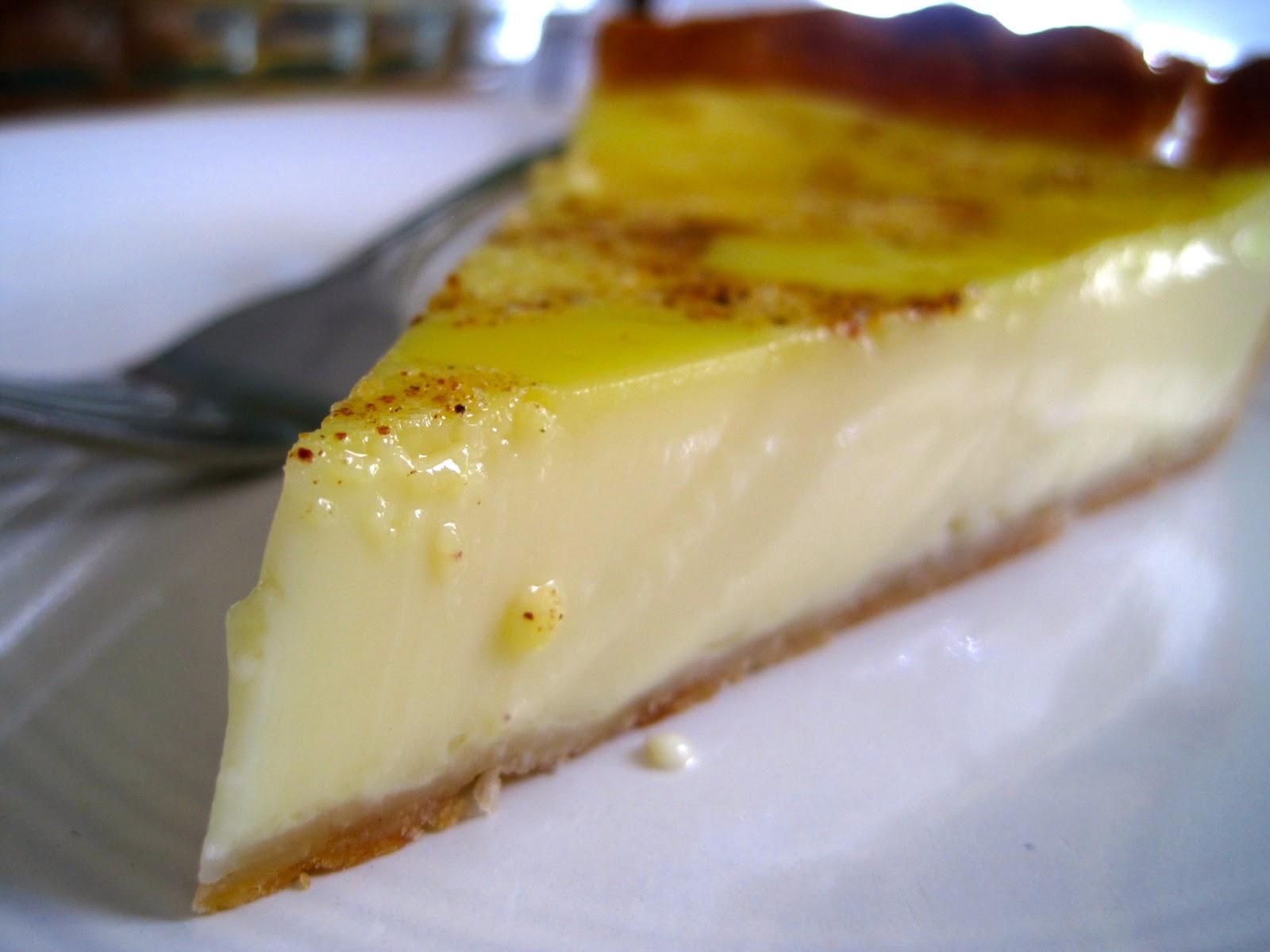 Alissamay's: Egg Custard Pie