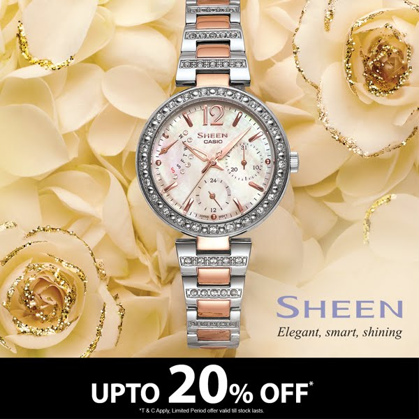 Pick Your Style With Casio's Sheen Collection!