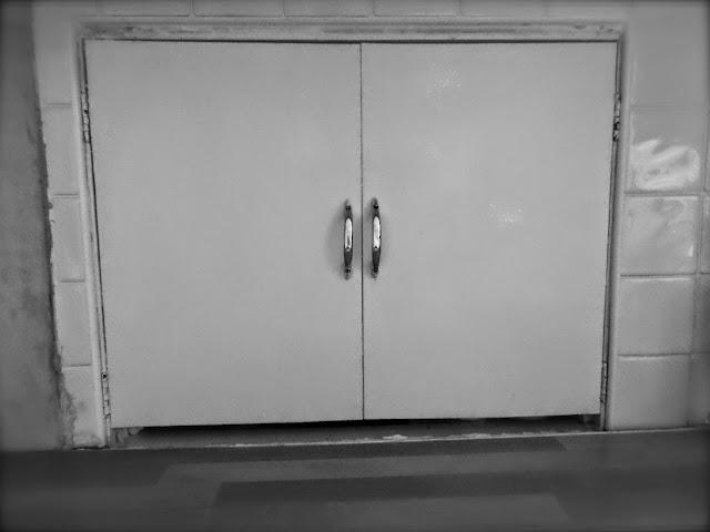 serving hatch circa 1970s