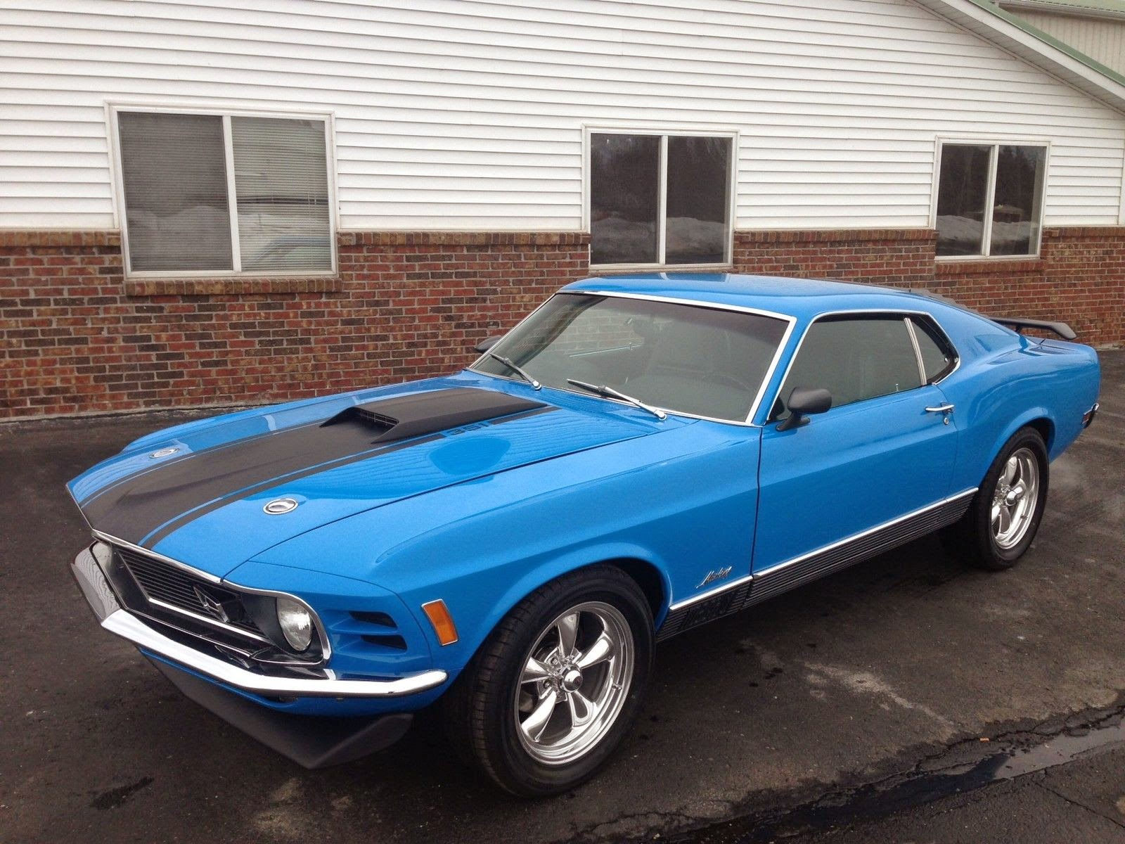 1970 Mustang Mach 1 Rotisserie Restoration ~ For Sale American ...