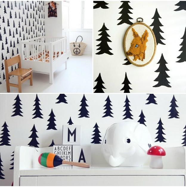 diy papel pintado sin papel la garbatella dise o de interiores proyectos de decoraci n online. Black Bedroom Furniture Sets. Home Design Ideas